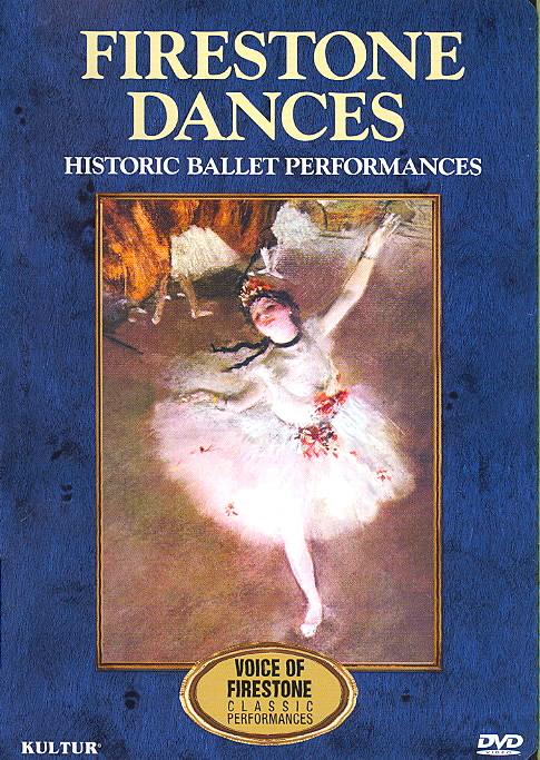 FIRESTONE DANCES:HISTORIC BALLET PERF BY NUREYEV,RUDOLF (DVD)