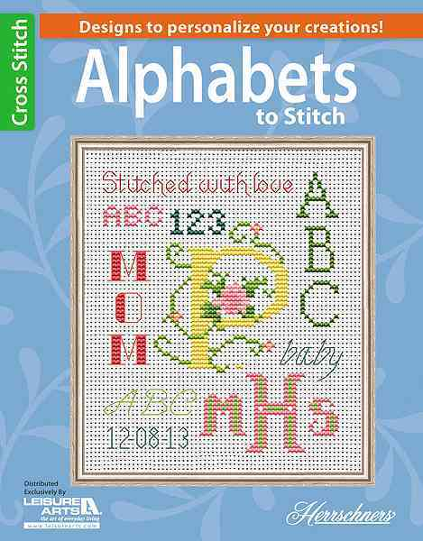 Alphabets to Stitch By Herrschners